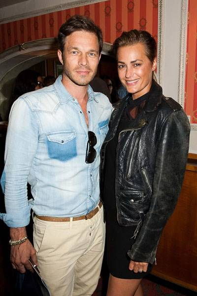 Paul Sculfor and Yasmin Le Bon
