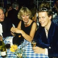 Duncan McLaren, Camilla Parker Bowles and Tom Parker Bowles