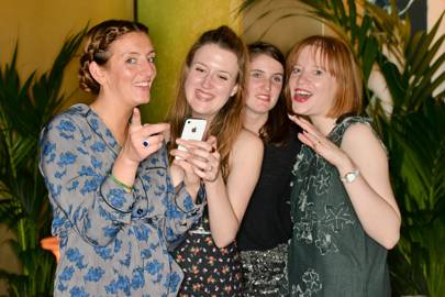 Lauren Milligan, Scarlett Kilcooley-O'Halloran, Ella Alexander and Jessica Bumpus