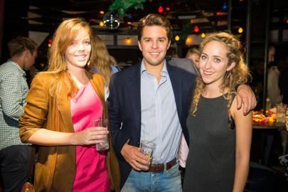 Lise Honsinger, Douglas Turnbull and Gabrielle De Clermont