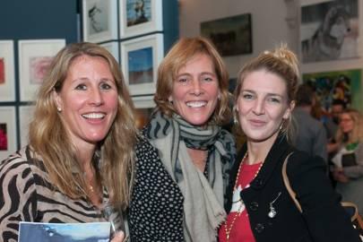 Miranda Kirkpatrick, Antonia Bury and Melinda Stevens