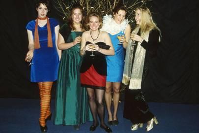 Sophie McCallum, Annabel Hodgson, Sarah Davis, Charlotte Bromley-Davenport and Arabella Dorman