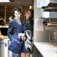 Mark-Francis Vandelli and Gabriella Tristao
