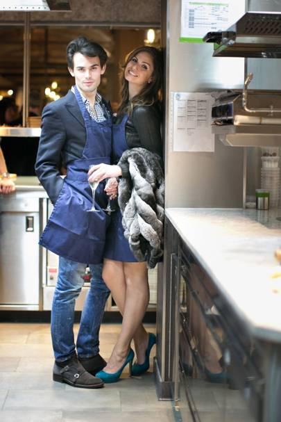 Mark-Francis Vandelli and Gabriella Tristao