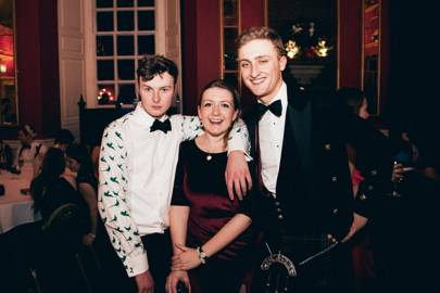 Dodie James, Alasdair Harriss and Chris Makowski