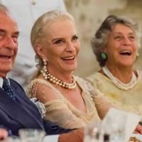 Marquis Giuseppe di San Giuliano, Princess Michael of Kent and Princess Giorgiana Corsini