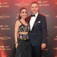 Batia Ofer and David Walliams