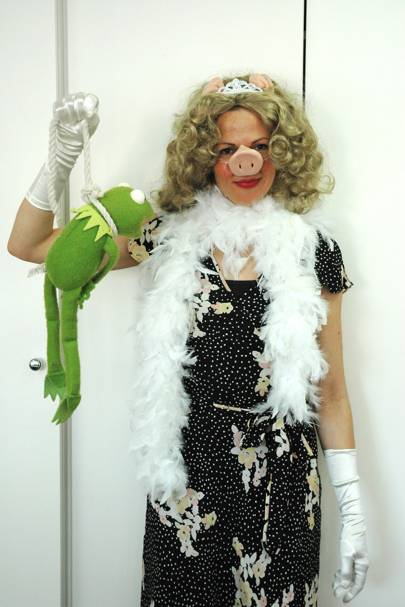 Francisca Kellett as Murderous Miss Piggy