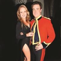 Chloe Fleming and Lt Archie Horne