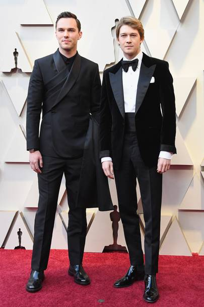 Nicholas Hoult and Joe Alwyn
