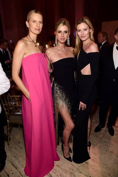Karolina Kurkova, Nicky Hilton Rothschild and Charlott Cordes