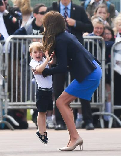 We all want to be picked up by the Duchess of Cambridge. Unfair