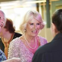Cath Greenwood and the Duchess of Cornwall