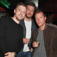 George Barnett, Rick Edwards and Robin Scott-Lawson