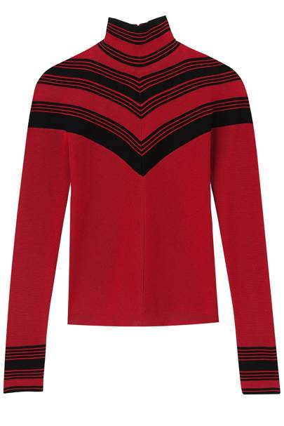 Wool jumper, £580, by Salvatore Ferragamo