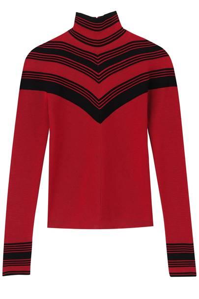 Wool jumper, £580, by Salvatore Ferragamo
