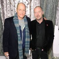 Woody Harrelson and Matthew Freud