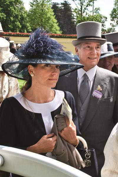 Princess Zahra Aga Khan and the Aga Khan