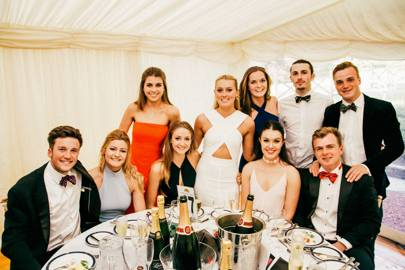 James Meddings, Milly Cooke, Iona Cameron, Lucy Lines, Amber Williams, Iona Dryden, Rachel Hanley, Tristan Mallison, Chris Leith and Mark Clifford