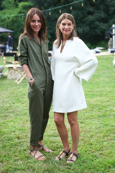 Alison Loehnis and Natalie Massenet