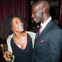 Adjoa Andoh and Ivanno Jeremiah