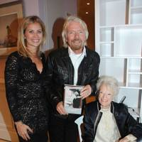 Holly Branson, Sir Richard Branson and Eve Branson