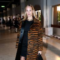 Lauren Santo Domingo at the Giambattista Valli show.