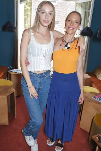 Agathe Chapman and Tiphaine de Lussy