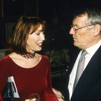 Mrs Ed Victor and Jack Higgins