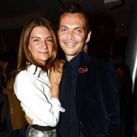 Dame Natalie Massenet and Matthew Williamson