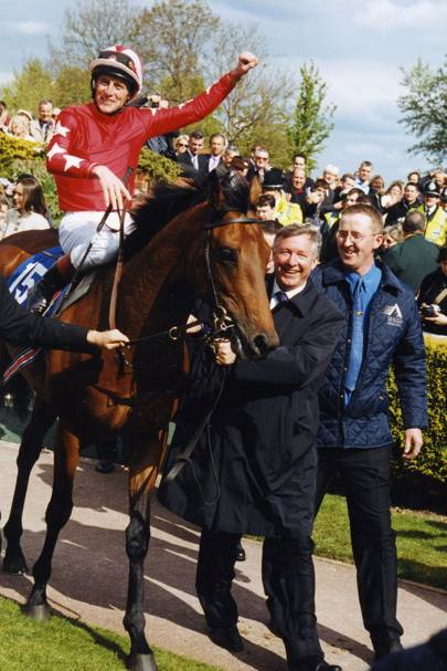 Johnnie Murtagh, Sir Alex Ferguson and Ger Hoare