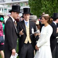 The Duke of Cambridge, Jakie Warren and the Duchess of Cambridge