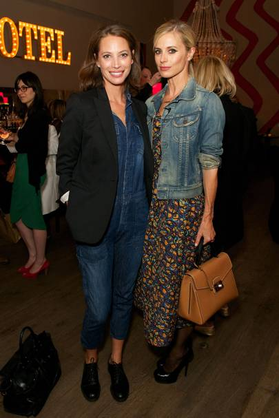 Laura Bailey and Christie Turlington Burns