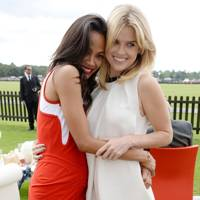 Zoe Saldana and Alice Eve