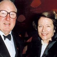 Henry Keswick and Mrs Henry Keswick