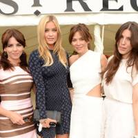 Ophelia Lovibond, Laura Whitmore, Anna Friel and Laura Lewis