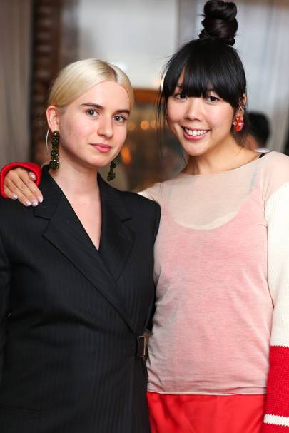 Isabella Burley and Susie Lau