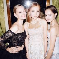 Sofya Evstigneyeva, Miroslava Mikhailova and Eleonora Sevenard