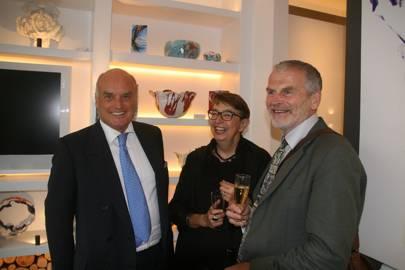 Nicholas Coleridge, Anne Rawcliffe-King and Steve Rathborn