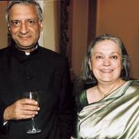 Kamalesh Sharma and Mrs Kamalesh Sharma