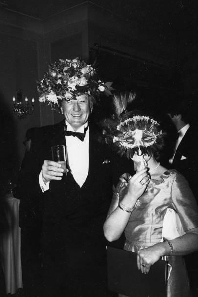 David Louthan and Annie McCaffrey