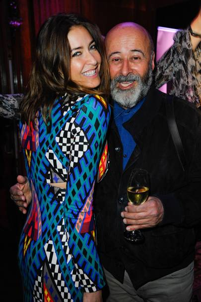 Lisa Snowdon and Richard Young
