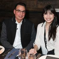 Steve Zades and Daisy Lowe