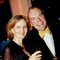 Mrs Andrew Scott and Nigel Milne