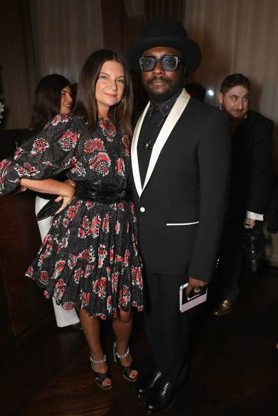 Dame Natalie Massenet and Will.i.am