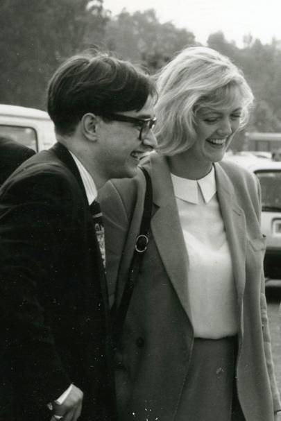 Thomas Starzewski and Annabel Heseltine