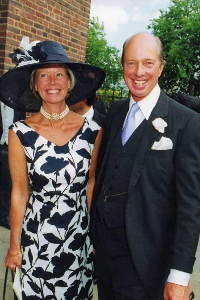 Mrs Nicholas Peto and Nicholas Peto