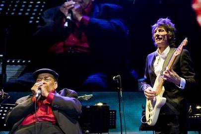 James Cotton and Ronnie Wood