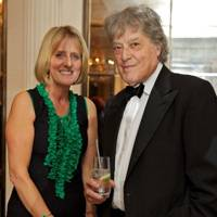 Juliet Nicolson and Sir Tom Stoppard