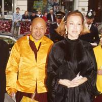 Lama Yeshe and Mrs Jonathan Aitken